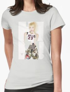 TWICE 'Hirai Momo' Typography Womens Fitted T-Shirt