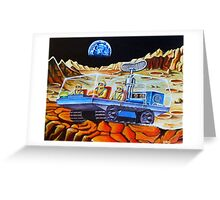 MOON BUGGY Greeting Card