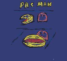 Pac man + Pinky T-Shirt