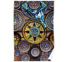 Ceramics Dish of Samarkand Poster