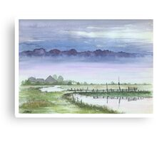 TRANQUIL BEAUTY - AQUAREL Canvas Print