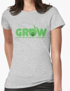 Oxfam: Grow  Womens Fitted T-Shirt