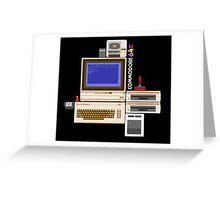 Hail the Commodore 64 Greeting Card