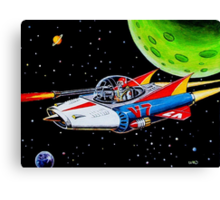 V-7 SPACE SHIP Canvas Print