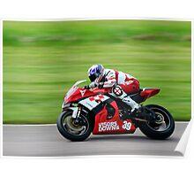 Halsall Racing Team Kawasaki Poster