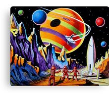 NEW WORLDS Canvas Print
