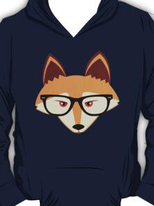 Cute Hipster Red Fox T-Shirt