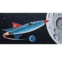 X-7 MOON ROCKET Photographic Print