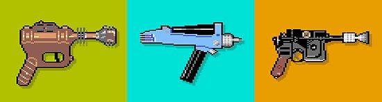 Raygun Phaser Blaster by carljagt