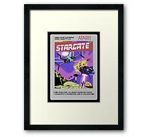 Stargate! Framed Print