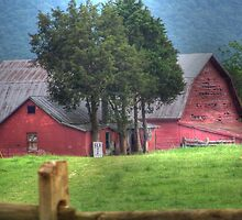Barn On Belle Grove Plantation by James Brotherton