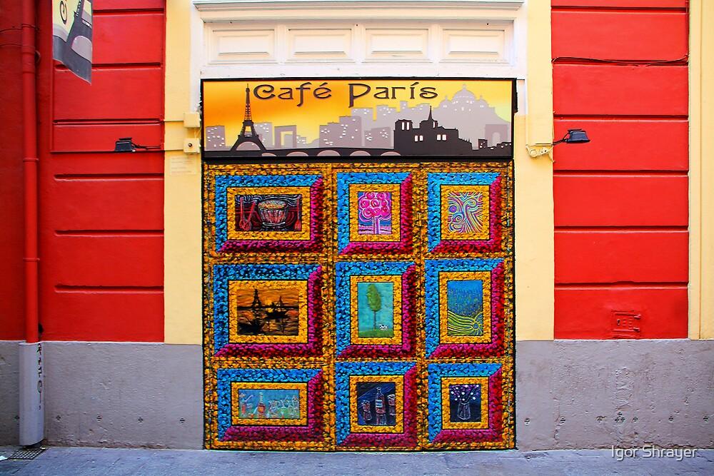 Memories of Spain 2 - Cafe Paris in Valencia by Igor Shrayer