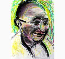Gandhi with color Unisex T-Shirt