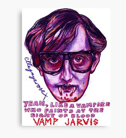 Vamp Jarvis Canvas Print