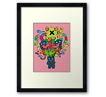 Monster Brains Framed Print