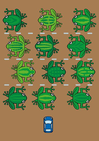 Revenge of the Frogs by DoodleDojo