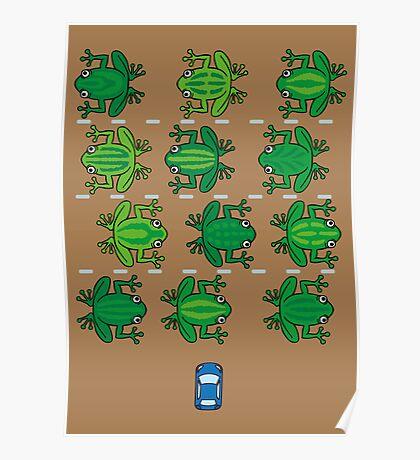 Revenge of the Frogs Poster