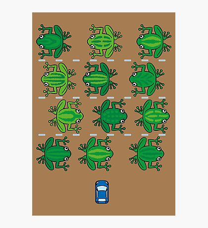 Revenge of the Frogs Photographic Print