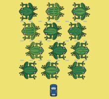 Revenge of the Frogs Baby Tee
