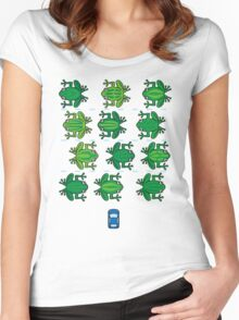 Revenge of the Frogs Women's Fitted Scoop T-Shirt