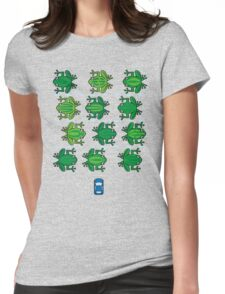 Revenge of the Frogs Womens Fitted T-Shirt
