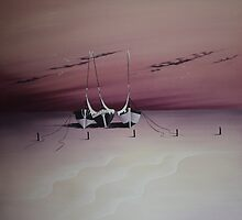 Purple Sunset by Jan Vinclair