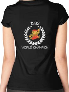 1992 World Champion Women's Fitted Scoop T-Shirt