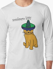 Sombrero kitty Long Sleeve T-Shirt