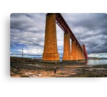 How big is this bridge? Canvas Print