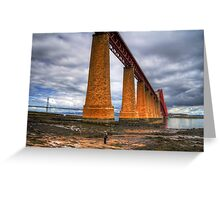 How big is this bridge? Greeting Card