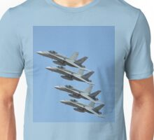 Hornet Formation Flypast, Point Cook Airshow, Australia 2014 Unisex T-Shirt