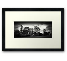 The woodcutters cottage Framed Print