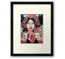 Nimue Framed Print