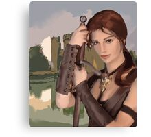 Princess Warrior Canvas Print