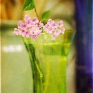 Green vase by Lynn Starner