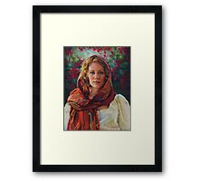Captivated Framed Print