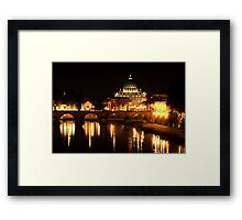 Saint Peters Basilica Framed Print