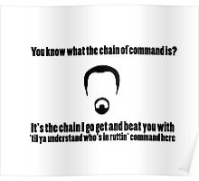 The Chain of Command Poster