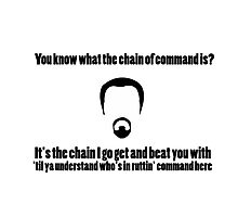 The Chain of Command Photographic Print