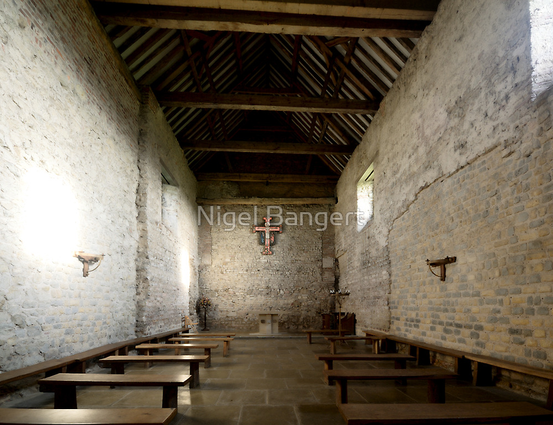 St Peter's on the Wall by Nigel Bangert