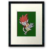 Trundle, The cursed troll Framed Print
