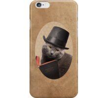 Sir Sophisticat iPhone Case/Skin