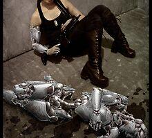 Cyberpunk Photography 006 by Ian Sokoliwski