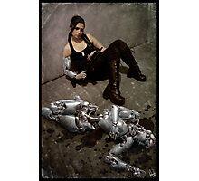 Cyberpunk Photography 006 Photographic Print