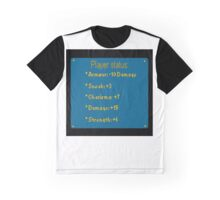 D&D Player skill shirt. Graphic T-Shirt