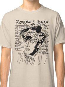 Rowland S. Howard Tribute Classic T-Shirt
