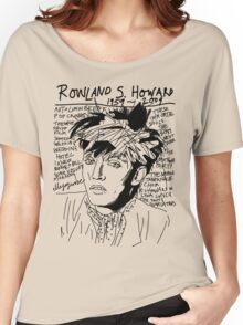 Rowland S. Howard Tribute Women's Relaxed Fit T-Shirt