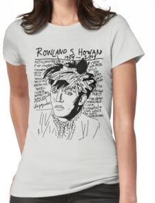 Rowland S. Howard Tribute Womens Fitted T-Shirt