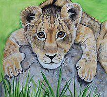 Tiger's eyes by Maralin Cottenham