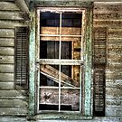 Old Shutters by Jane Best